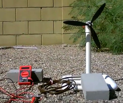 How To Build A Simple Model Of A Wind Turbine