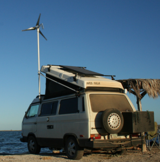 Adding Wind Power To The Motor Home