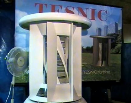 Tesnic home wind generator