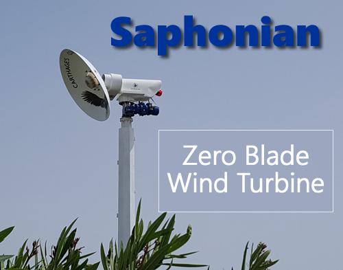 Saphonian Bladeless Wind Turbine