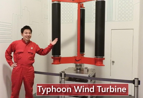 Japan Typhoon Wind Turbine